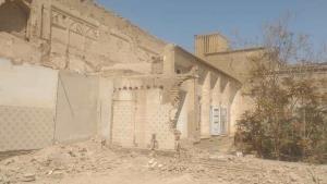 احیا و مرمت خانه اربابی یزد با دستور دادستان یزد