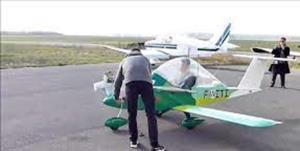 هواپیمای فوق سبک در غرب مازندران سقوط کرد