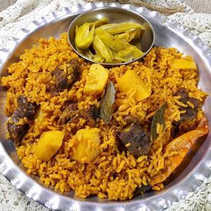 طرز تهیه هواری گوشت و نخود خوشمزه به روش سنتی عربی