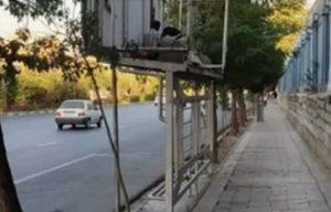 زندگی یک خانواده بیخانمان روی سقف ایستگاه اتوبوس در کرج