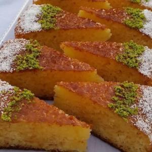آموزش پخت «کیک خیس کاراملی» فوق العاده خوشمزه