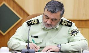 لبیک نیروی انتظامی به فرمان رهبر انقلاب