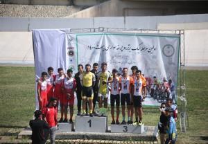 قهرمانی سپاهان در اولین مرحله لیگ برتر دوچرخهسواری پیست