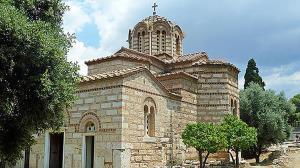 ویران شدن کلیسای ساحلی پس از وقوع زلزلهای مهیب