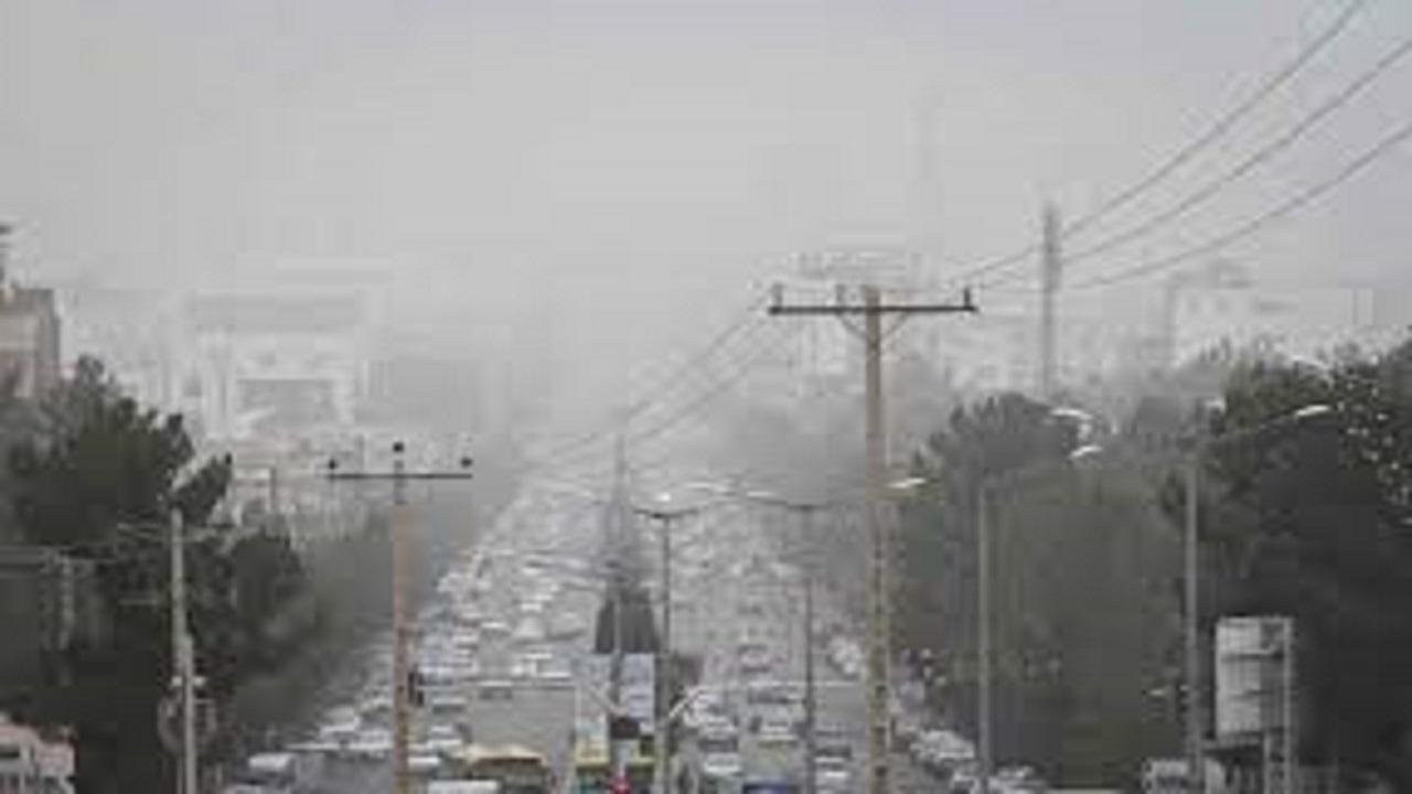 کیفیت هوای ساوجبلاغ ناسالم شد
