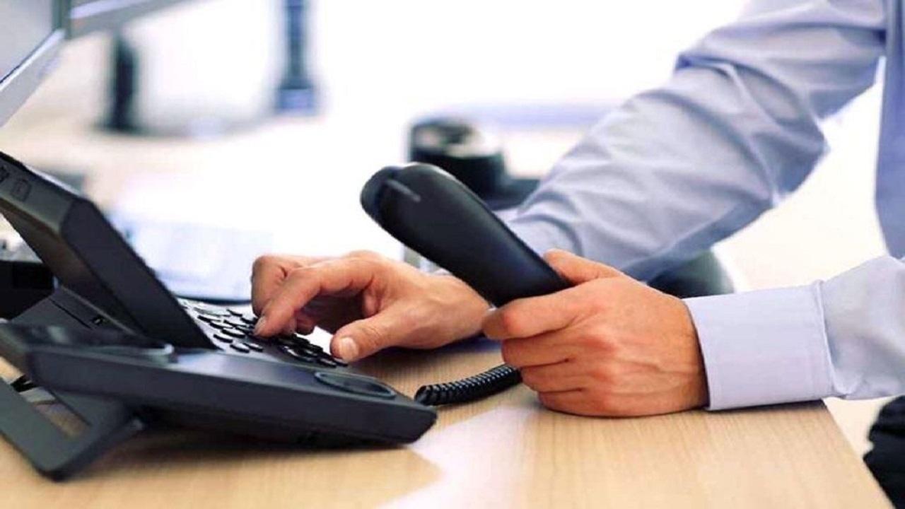 اختلال خطوط تلفن ثابت در رشت طی ۵ روز آینده