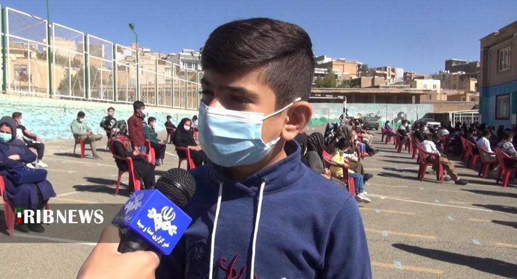 واکسینه شدن ۳۰ درصد از دانشآموزان در کردستان