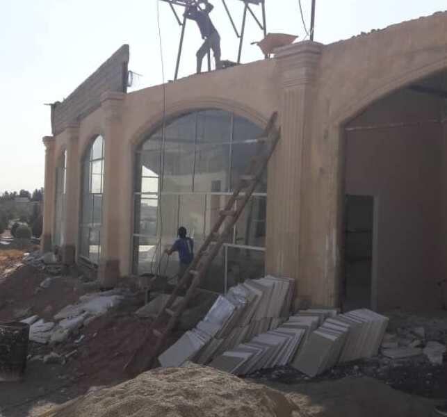 عملیات تکمیل بیمارستان شهر جدید هشتگرد از سرگرفته شد
