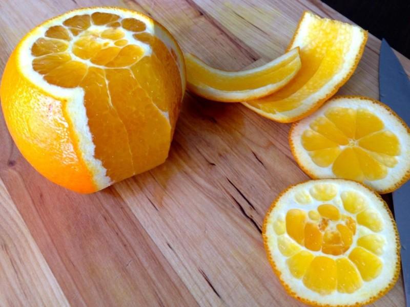 هرگز پوست پرتقال را دور نریزید