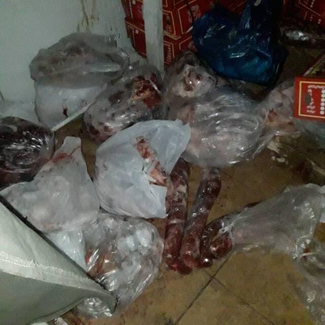 کشف ۴۰۰ کیلو گوشت قرمز غیرقابل مصرف از یک قصابی در همدان