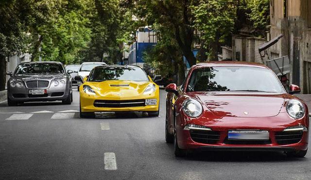 قانونی نشدن دریافت مالیات از خودروهای لوکس