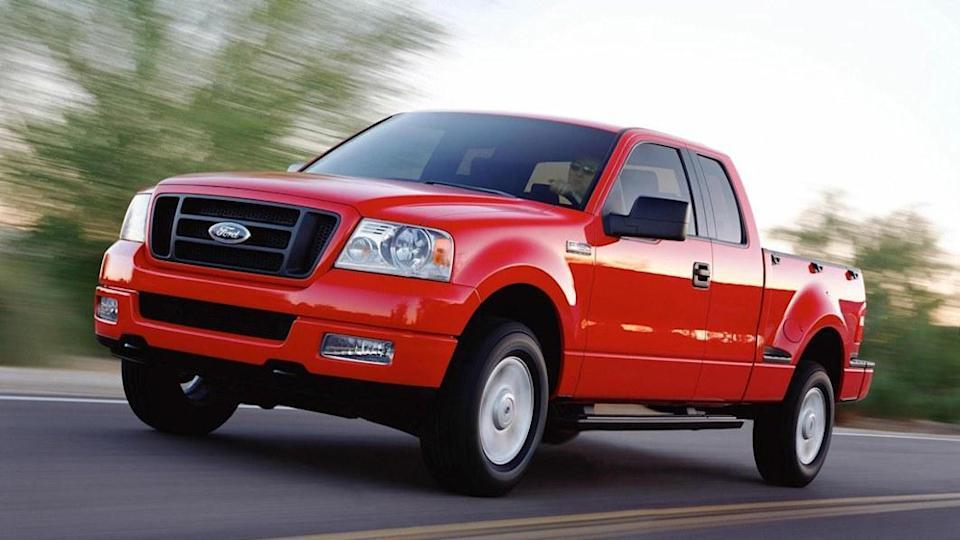 فورد سری اف محبوبترین خودروی سارقان امریکایی!
