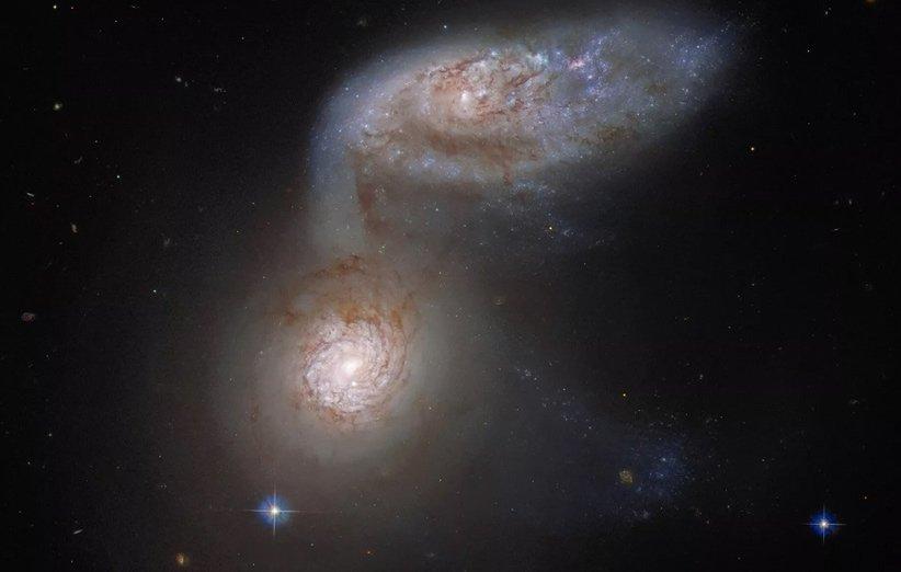 هابل سرنوشت راه شیری را ۱۰۰ میلیون سال نوری دورتر از ما رصد کرد