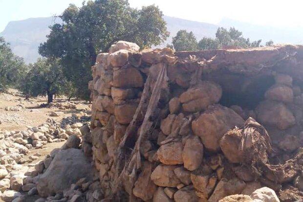 آسیب زلزلههای اخیر به ۸۰۰ خانه عشایری در خوزستان