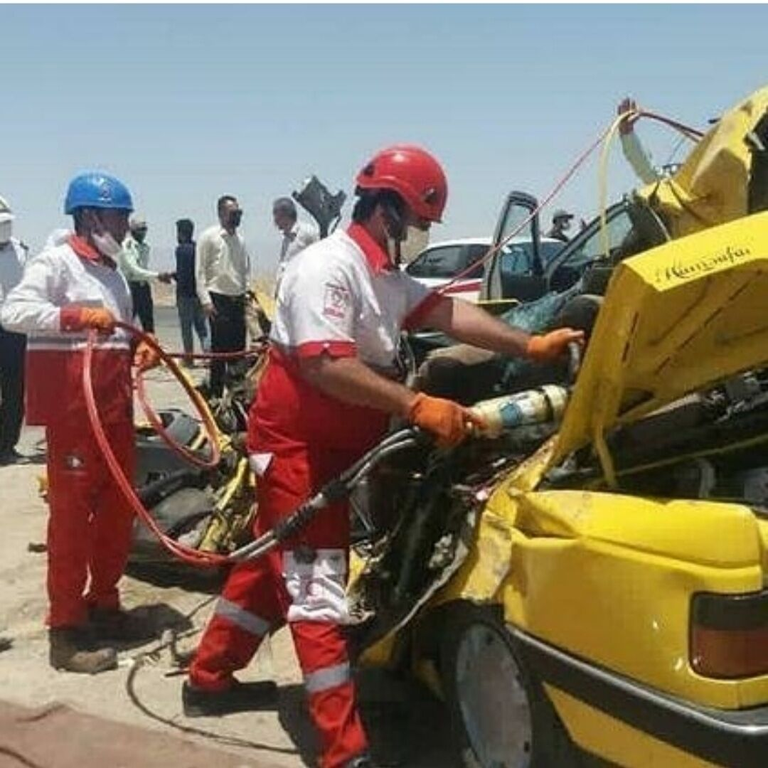 سانحه رانندگی در محور جیرفت-بم یک فوتی برجاگذاشت