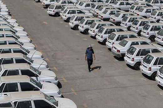 بررسی تغییرات موجودی انبار خودروسازان در نیمسال گذشته