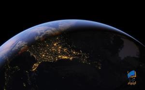 زمین در حال تاریک شدن است
