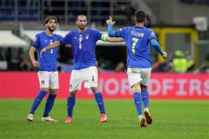 صعود ایتالیا؛ عبور آتزوری از رقیب دیرینه