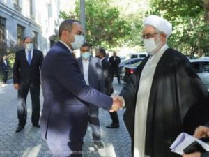 منتظری با دادستان کل ارمنستان دیدار کرد