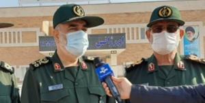 بازدید فرمانده کل سپاه از شهرک شهید سلیمانی در زاچ و داربست