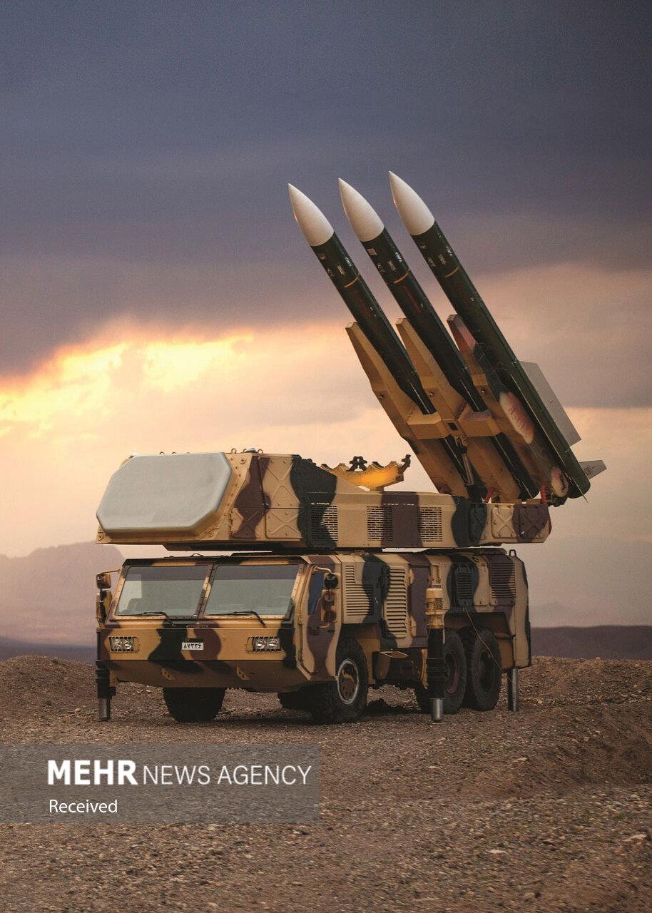 غرش سامانههای دفاع موشکی در کویر سمنان