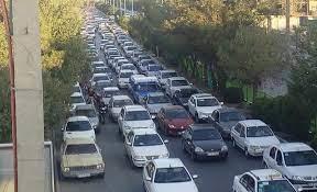 باز شدن گره ترافیکی بلوار طالقانی یزد