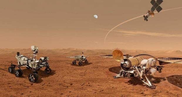 اولین نمونه های خاک مریخ، آماده بازگشت جسورانه به زمین