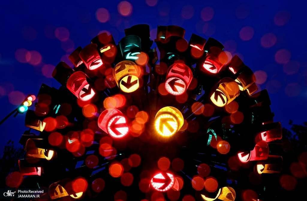 گل چراغ راهنمایی؛ اثری از هنرمندان آلمانی