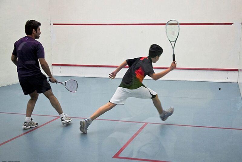 ورزشکاران کرمانشاهی به رقابتهای لیگ دسته یک اسکواش اعزام میشوند