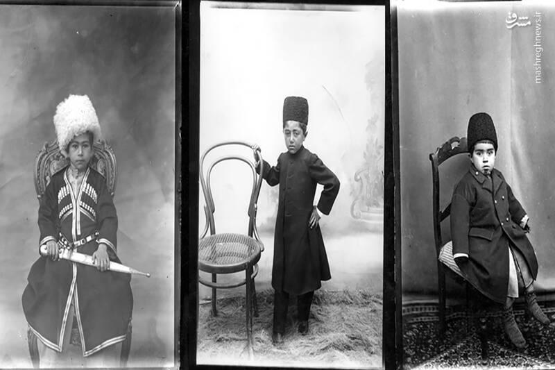 عکاسی از کودکان در دوره قاجار