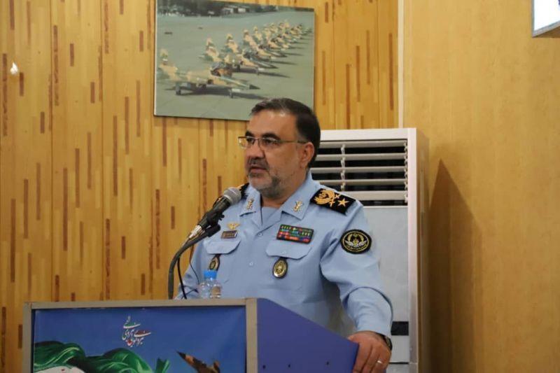 فرمانده نیروی هوایی ارتش: هیچ ماموریتی بالاتر از تحقق انتظارات رهبری نداریم