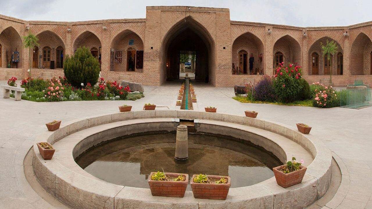 کاروانسرای شاه عباسی خوی در فهرست ارزیابی برای ثبت جهانی یونسکو
