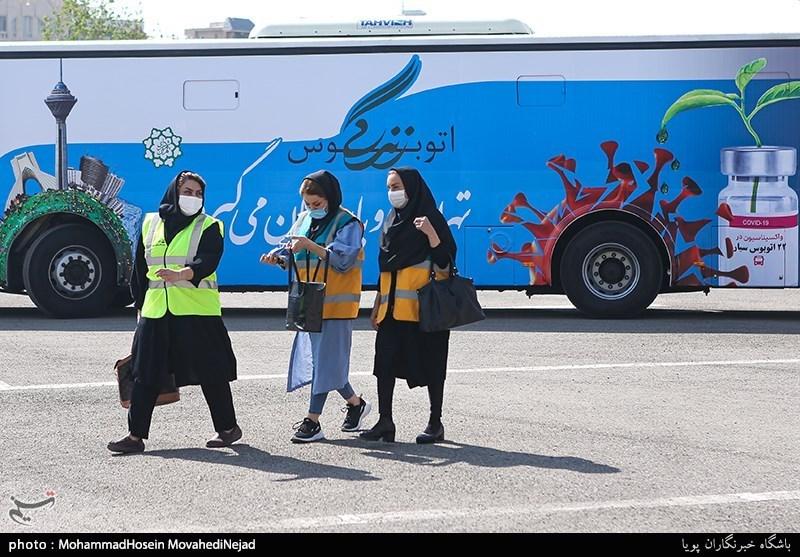 عکس/ افتتاح فاز دوم واکسیناسیون شهروندان