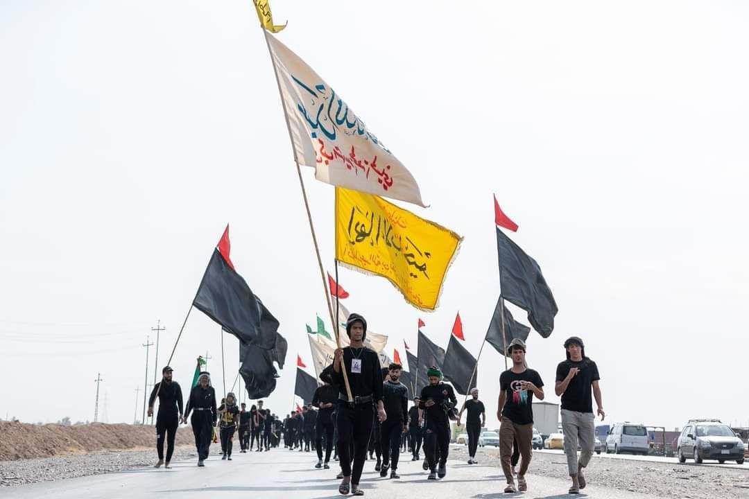 عکس/ پیاده روی زائران بسوی سامرا
