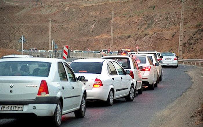 ترافیک در مبادی ورودی مازندران پرحجم است