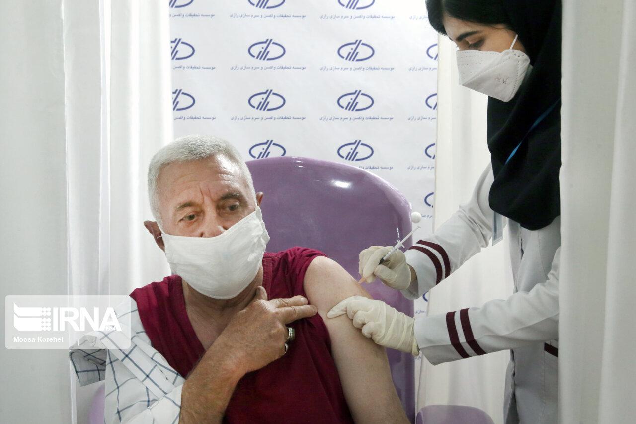 ۳۳.۴ درصد واجدین شرایط گلستان در برابر کرونا واکسینه شدند