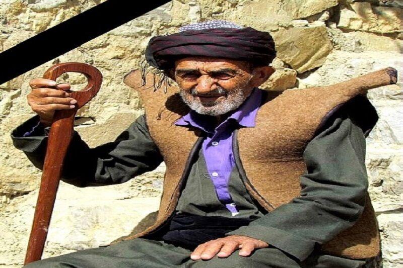 گنجینه ملی حوزه شالبافی کردستان درگذشت