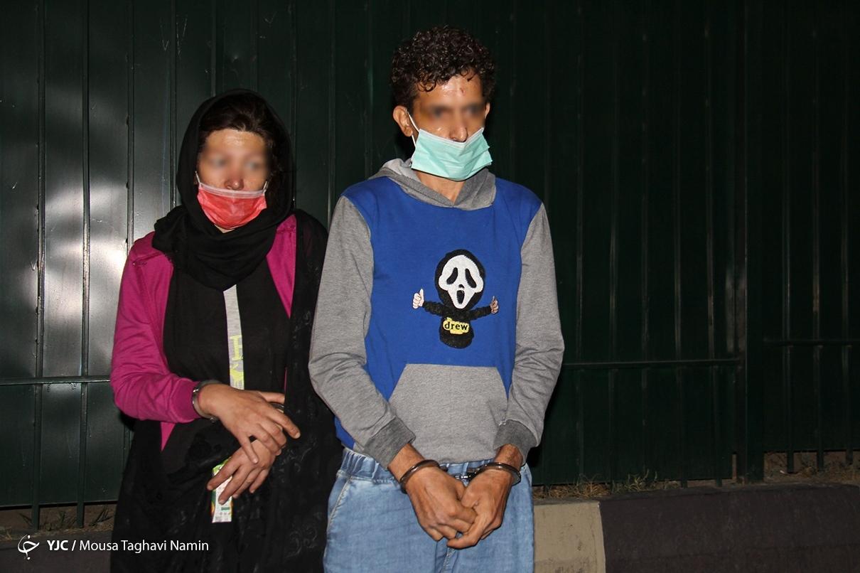 عکس/ دستگیری سارقان منازل و خودروها