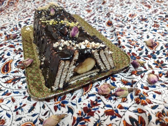 از شما/بفرمایید کیک یخچالی🍰