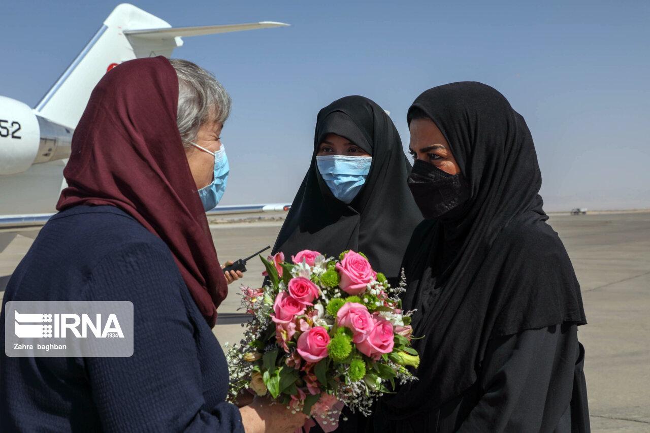 عکس/ سفر رییس مجلس ملی سوییس به اصفهان