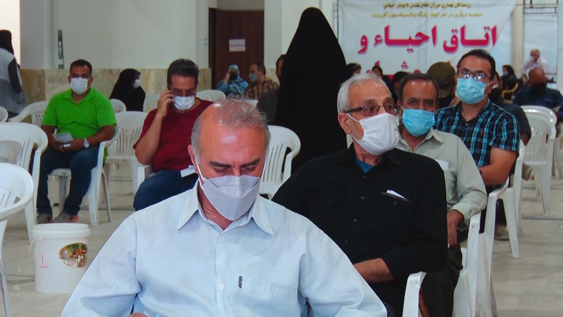 آغاز تزریق واکسن کرونای پاستور در اصفهان
