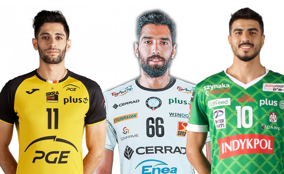 جولان والیبال ایران در اروپا
