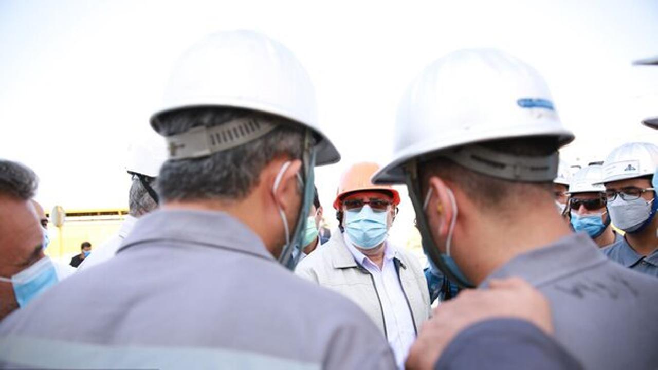 ورود وزیر نفت به فراشبند