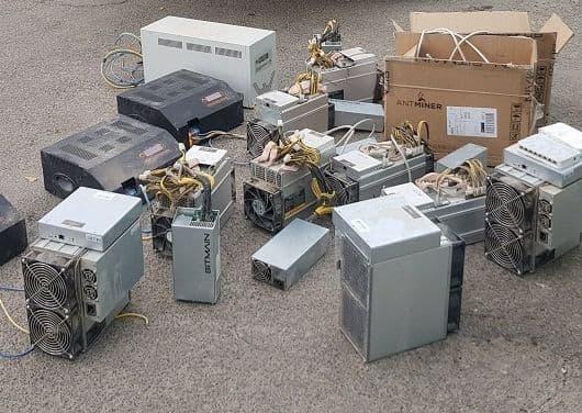 توقیف ۱۰ دستگاه استخراج ارز دیجیتال در قزوین