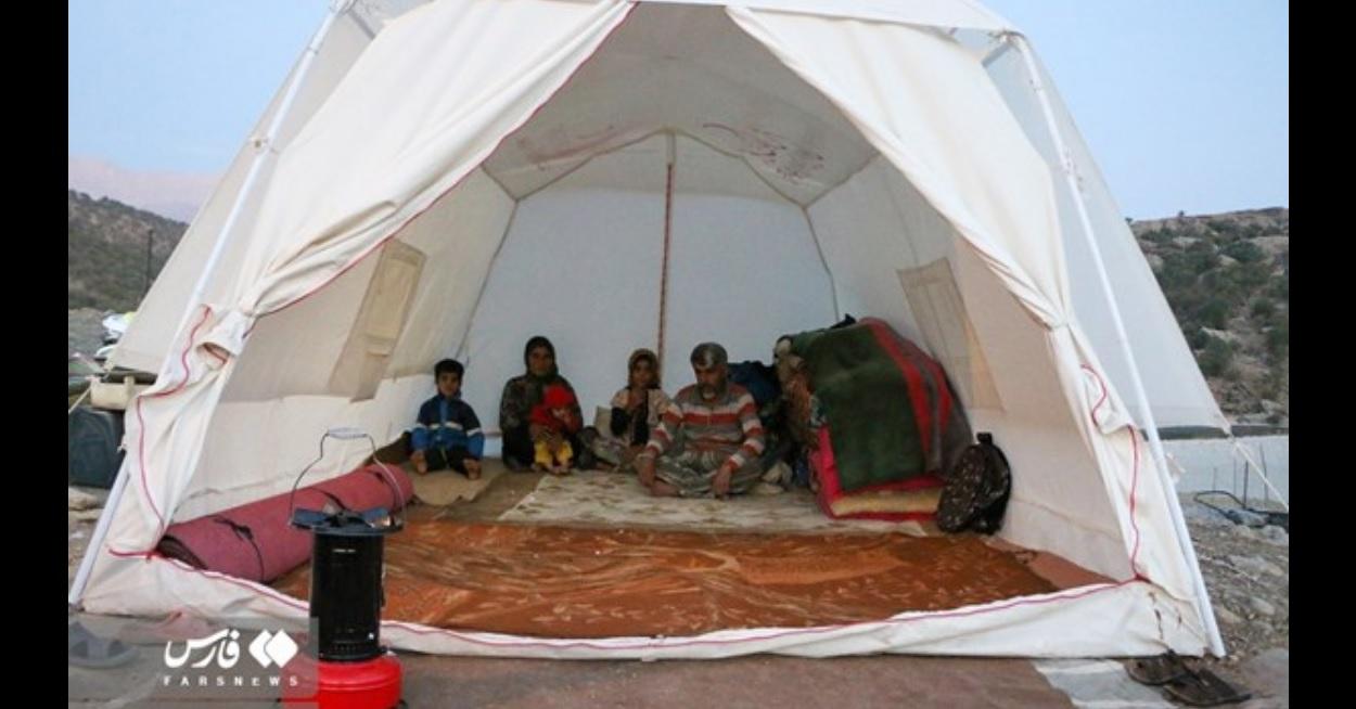سوز سرما و زلزلهزدگان چادرنشین؛ مردم بازفت نیازمند اقدام فوری هستند
