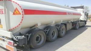 توقیف کامیون با ۳۰ هزار لیتر سوخت قاچاق در نیکشهر