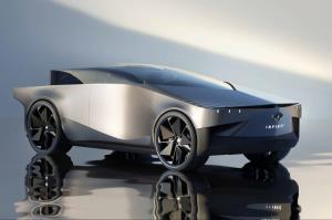 اینفینیتی QX90؛ خودرویی عجیب بر اساس طراحی تسلا سایبرتراک!