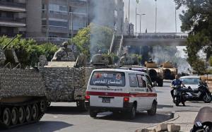ارتش لبنان ۹ نفر را در ارتباط با درگیری امروز بیروت دستگیر کرد