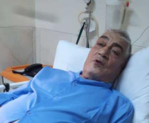 آخرین رقیب تختی در بیمارستان بستری شد