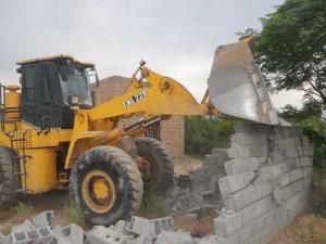 ۹۶ سازه غیرمجاز در اراضی کشاورزی خراسان شمالی تخریب شد